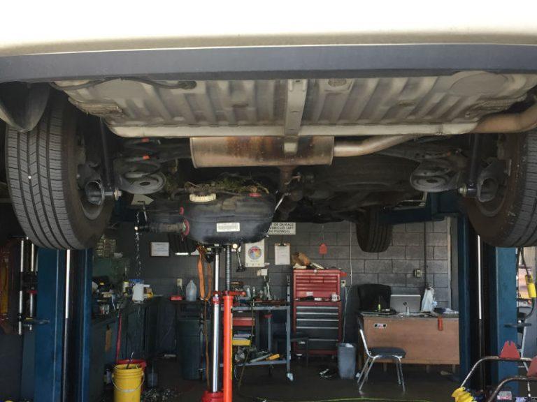 auto repair shop service bay
