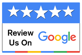 review us on google - badge