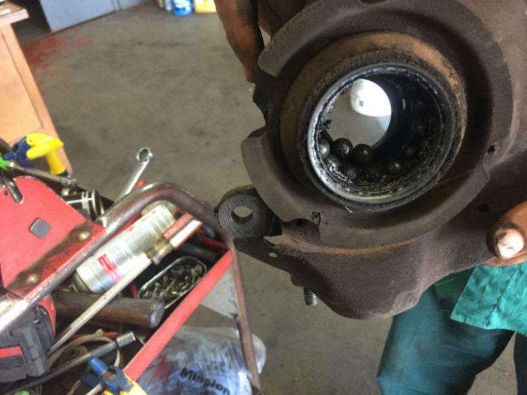 hub wheel bearing replacing