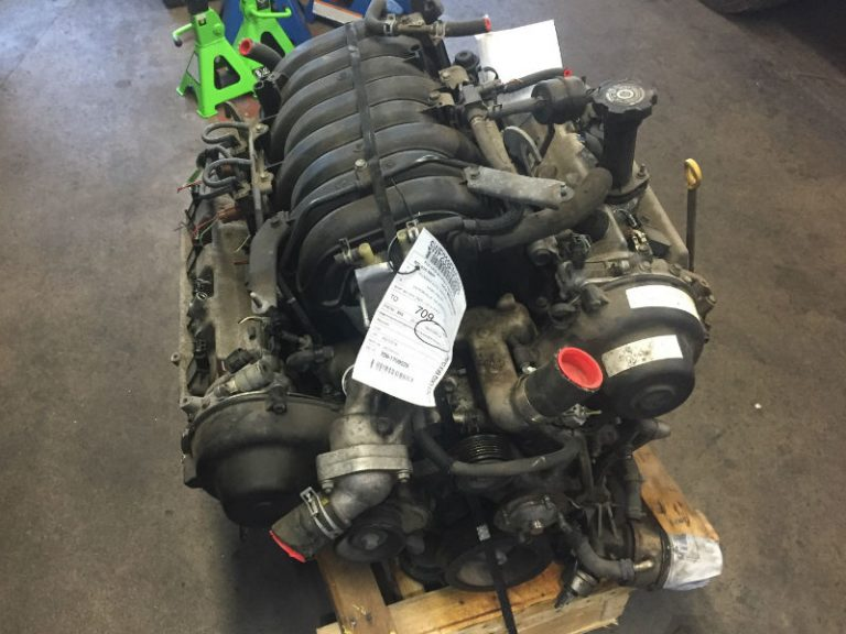 low mile used engine to be install in broken car