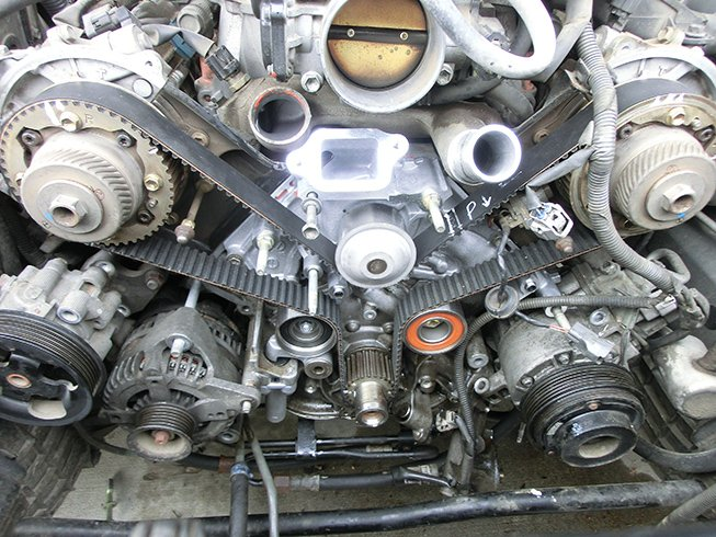 automotive timing belt replacement