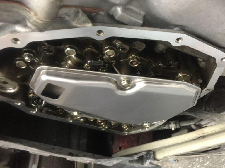 transmission oil pan case repair